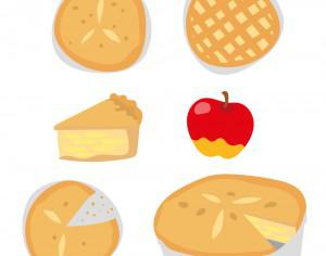 Delicious Apple Pie Vectors Photoshop brush