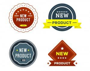 New Product Badges Photoshop brush