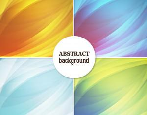 Set of abstract backgrounds Photoshop brush