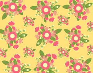 Hand draw seamless pattern Photoshop brush