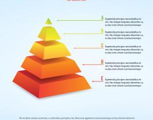 3d piramid infographic Photoshop brush