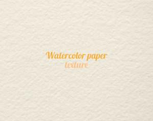 Watercolor paper texture  Photoshop brush