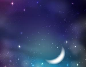 Starry sky background Photoshop brush