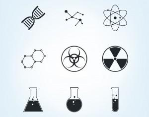 Chemistry Icons Set Photoshop brush