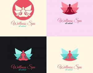 Wellness Spa Logo Photoshop brush