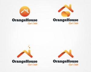Vector house roofs logo Photoshop brush