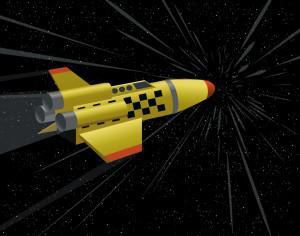 space shuttle Photoshop brush