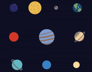 The Solar System Photoshop brush