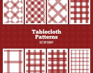Tablecloth Vector Patterns Photoshop brush