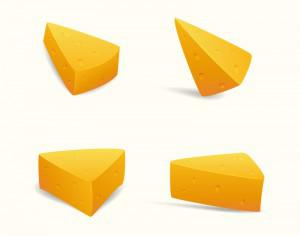 Swiss Cheese Slices Photoshop brush