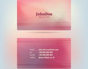 Vector Glow Business Card Photoshop brush