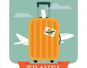 Travel illustration Photoshop brush