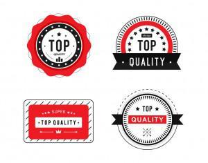 Top Quality Badges Photoshop brush