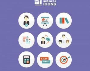 Business Icons Photoshop brush