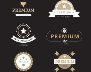 Premium Quality Badges Photoshop brush