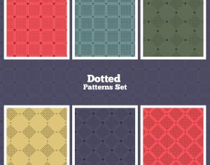 Vector Dotted Patterns Set Photoshop brush