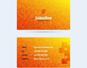 Pixel Monster Business Card Photoshop brush