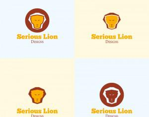 Lion Head Vector Logo Photoshop brush