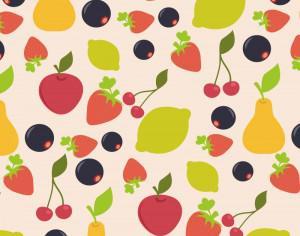 Food pattern Photoshop brush
