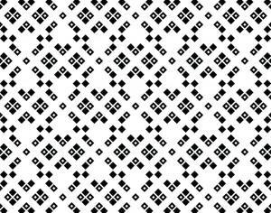 Black and White Squared Pattern Photoshop brush
