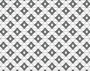 Modern Textile Geometric Pattern Photoshop brush