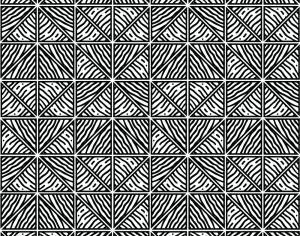Hand Drawn Black and White Geometric Pattern Photoshop brush