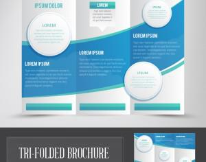 Tri Folded Brochure Photoshop brush