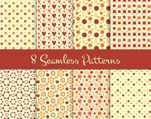 8 Seamless Patterns Photoshop brush