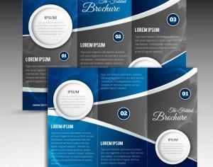 Tri Folded Brochure Photoshop brush
