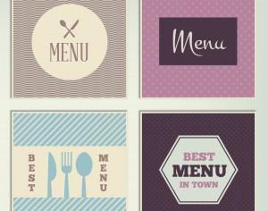 Restaurant Menus Photoshop brush