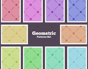 Seamless Geometrical Patterns Photoshop brush