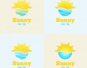 Sunny Side Up Logo Photoshop brush