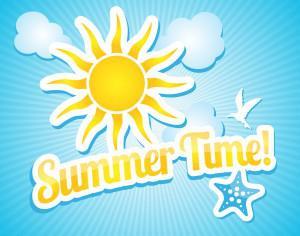 Nature summer background Photoshop brush