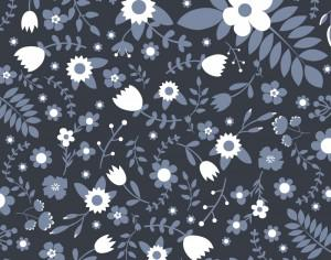 Floral vector pattern Photoshop brush