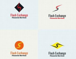 Exchange logo design Photoshop brush