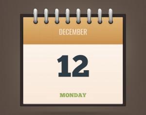 Detailed Vector Calendar Icon Photoshop brush