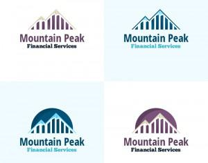 Mountain Peak Vector Logo Photoshop brush