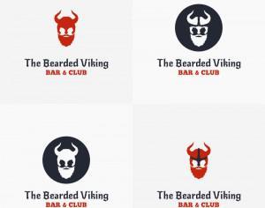 The Bearded Viking Vector Logo Photoshop brush
