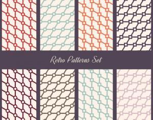 Retro Patterns Set Photoshop brush