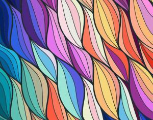 Abstract colorful background Photoshop brush