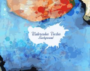 Watercolor texture Photoshop brush