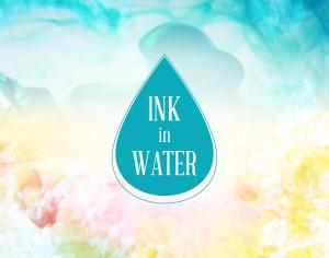 Ink in water background Photoshop brush