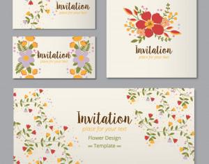 Floral cards  Photoshop brush