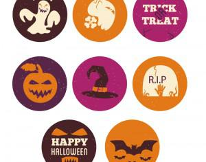Halloween icons  Photoshop brush