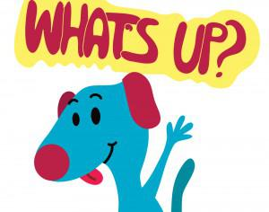 Dog Says What's up? Photoshop brush