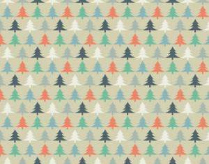 Christmas tree pattern Photoshop brush