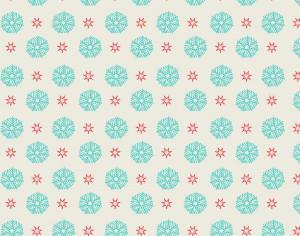 Snow flake pattern Photoshop brush