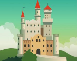 FairyTale castle Photoshop brush