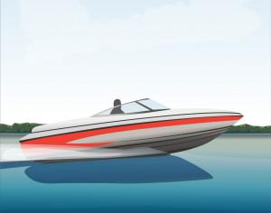 Speedboat Photoshop brush