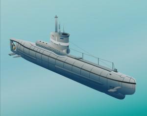 Submarine Photoshop brush